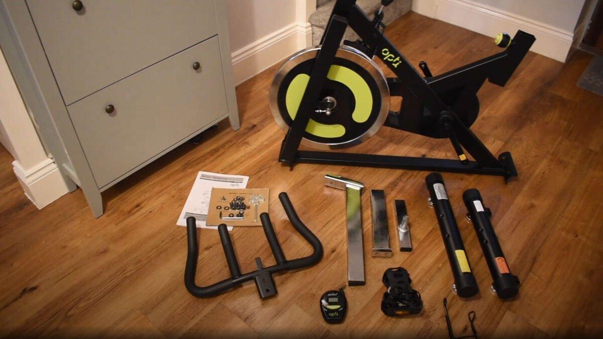 Unboxing Opti Aerobic Manual Exercise Bike Review