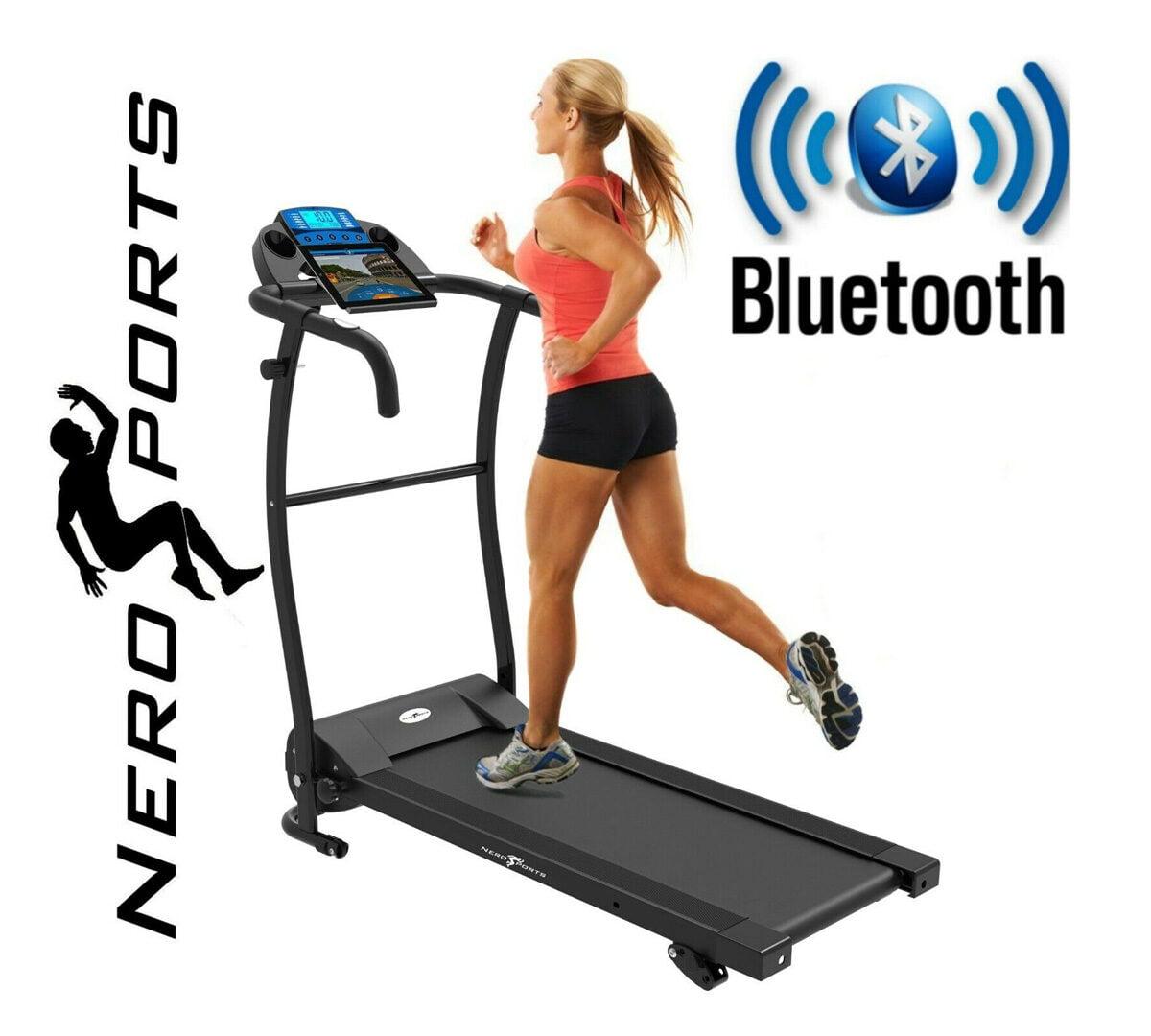 Women on Nero Sports Foldable Treadmill voucher code