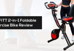 YYFITT 2 in 1 Foldable Fitness Exercise Bike review cheapest price
