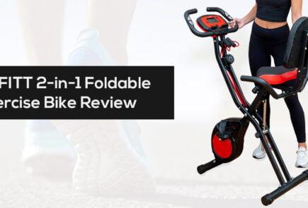 YYFITT 2 in 1 Foldable Fitness Exercise Bike review cheapest price