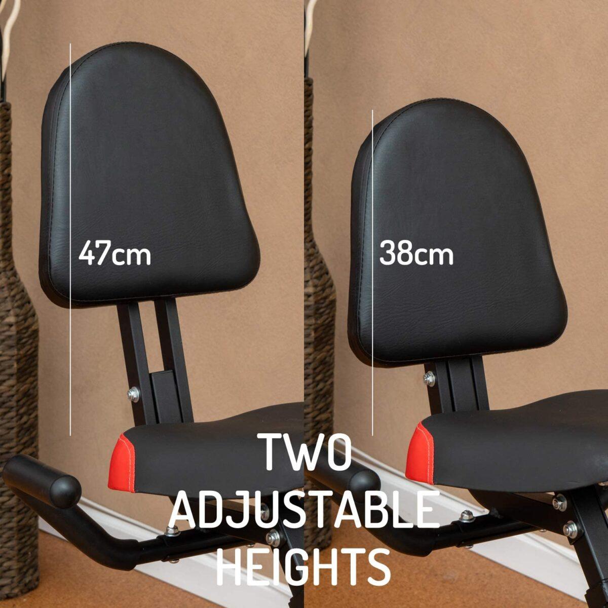 YYFITT 2 in 1 Foldable Fitness Exercise Bike seat adjustment voucher code