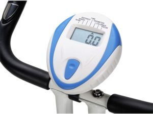 Davina magnetic folding exercise bike LCD panel