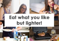 eat what you like but lighter