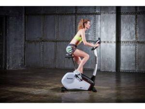 girl using jet 100 bike fitness