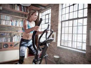 girl using the reebok gx40s workout
