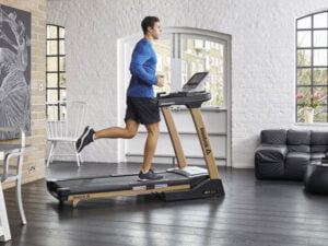 Man running on a Jet 300+ treadmill UK review