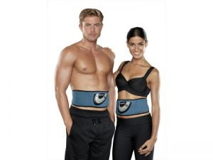 Man and Women with Slendertone belts