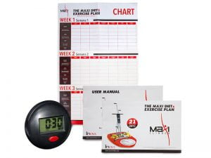 Maxi climber workout planner and diet planner