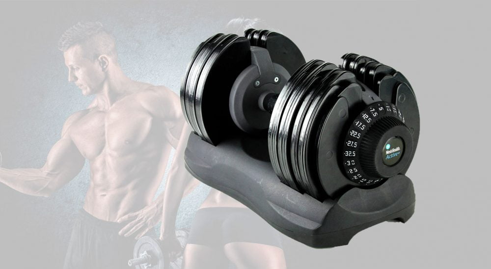 Men's health adjustable dumbbell review
