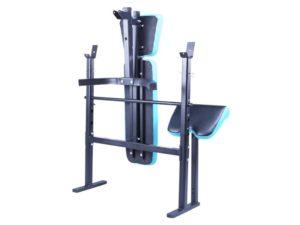 Men's health folding flat weights bench