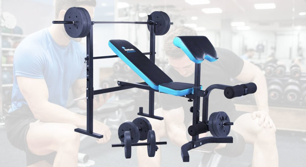 Men's health folding weights bench review