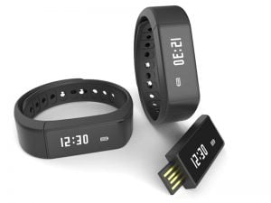 Nuband iTouch watch and usb stick in black