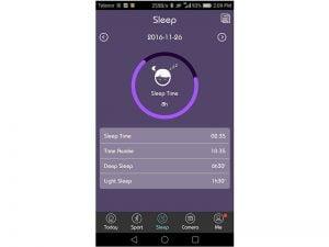 Nuband itouch sleep tracking app