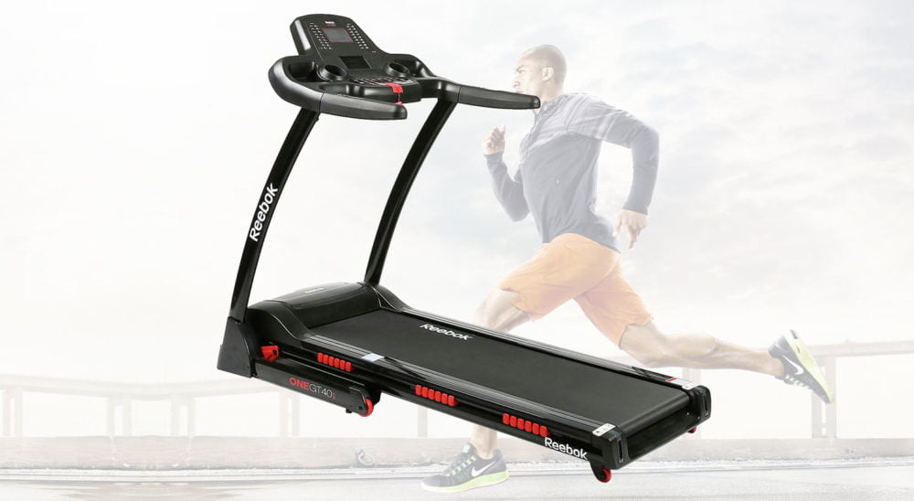 Reebok GT40s treadmill running machine review