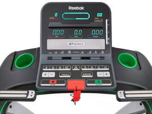 LCD display fan and cup holders for reebok jet 200