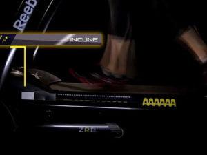Reebok ZR8 running track