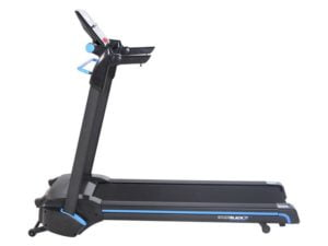 Roger black treadmill side view
