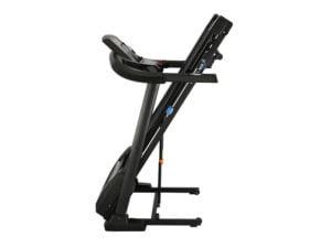 Roger black plus treadmill folded away