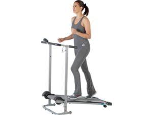 women using pro fitness treadmill