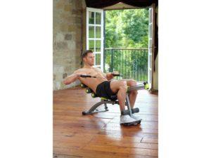Wondercore 2 seated rowing